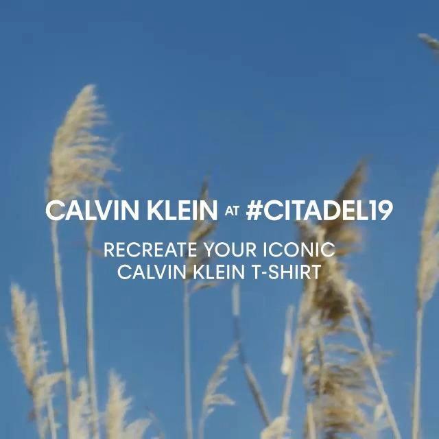 Calvin Klein at #Citadel19