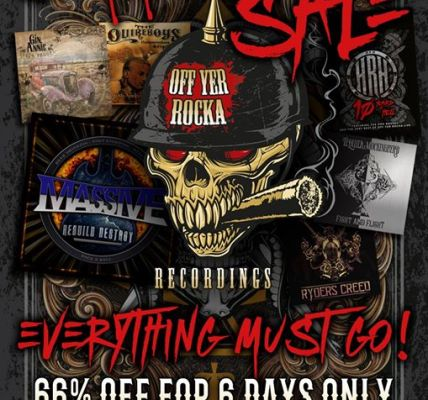 OFF YER ROCKA SUMMER FIRE SALE!!! Some of the best independent rock and metal on...
