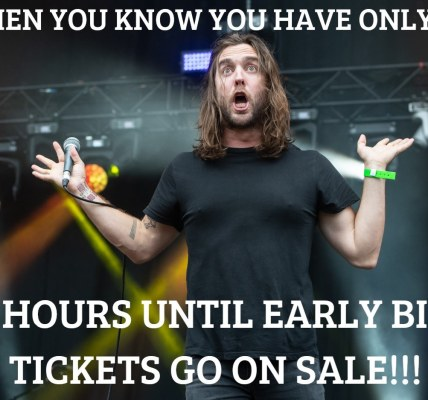 This is your 24 hour roll call and your last chance to grab reduced rate tickets...