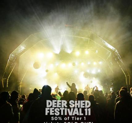 Only 10% of Tier 1 adult tickets remaining  #DEERSHED11...
