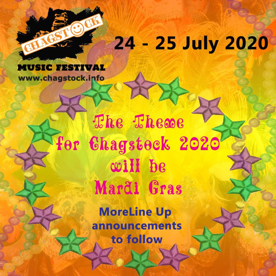 And the Theme for Chagstock Festival 2020 will be..........
