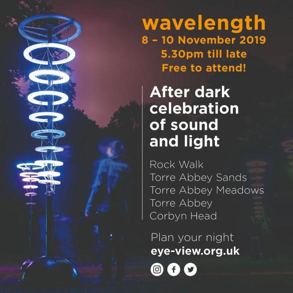 There is just one week until the start of Wavelength (Fri 8 - Sun 10 Nov) in Tor...