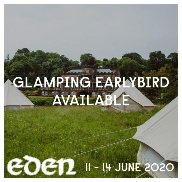 Glamping Earlybird tickets are on sale; this offer ends TOMORROW!...
