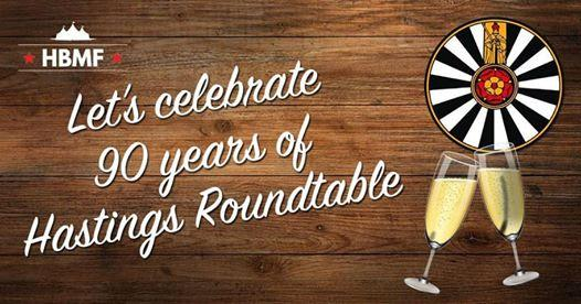 Celebrating 90 years of Hastings Round Table