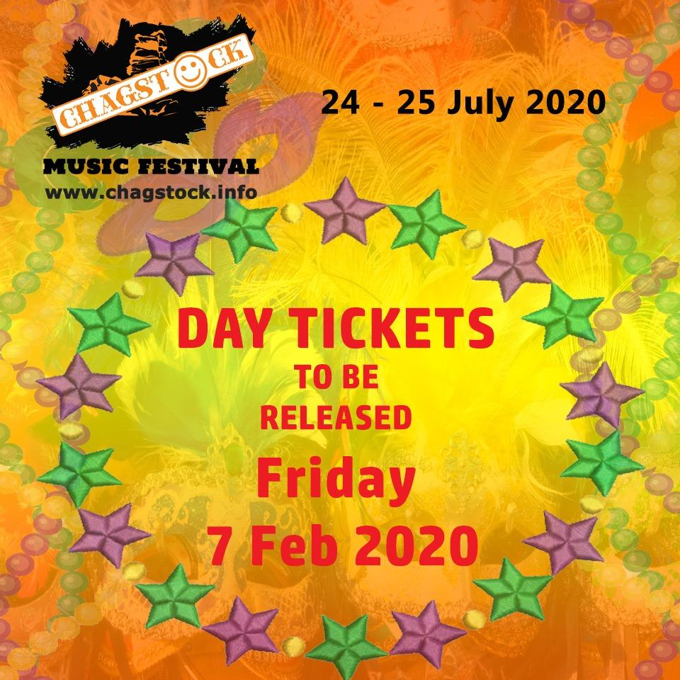 Day tickets will be released this Friday and there will be some more line up ann...