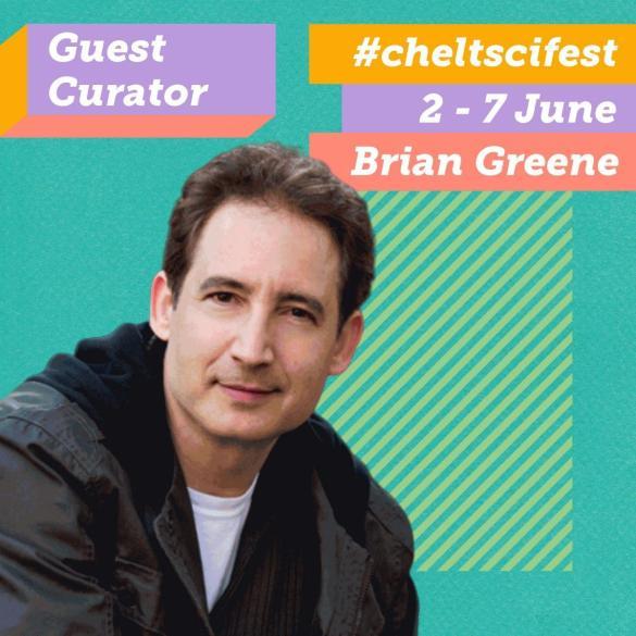 Breaking Cheltenham Science Festival news, we're thrilled to reveal Brian G...