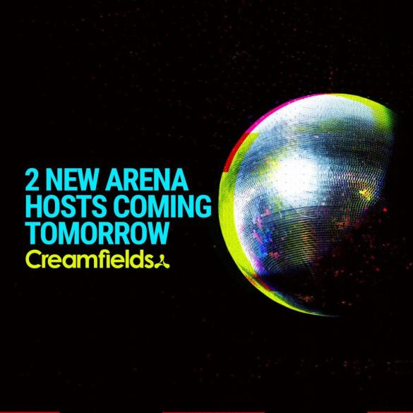Announcement Incoming - 2 brand new arena hosts coming tomorrow 12:30pm #StayTun...