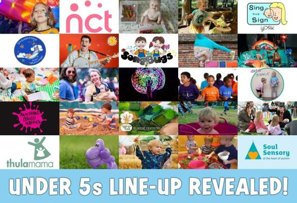 Our HUGE under 5s line-up for 2020 has been revealed! Featuring far too many art...