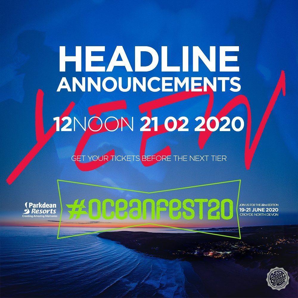 Here we go...                       #oceanfest20 headliner announcements 2102202...