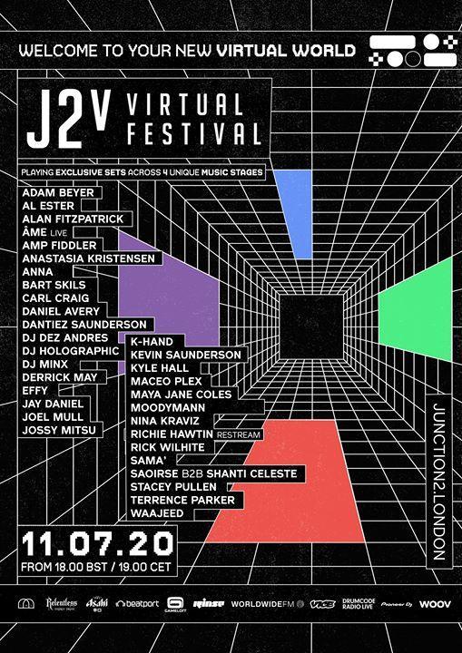 Announcing the full lineup for the evolved J2v Virtual Festival, taking place ne...
