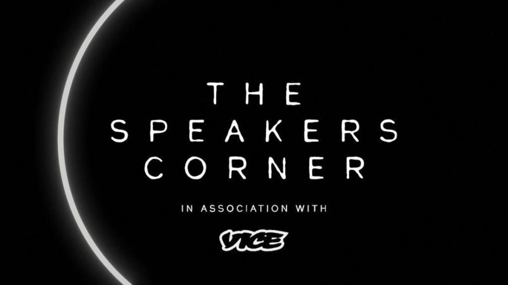 The Speaker's Corner at J2v