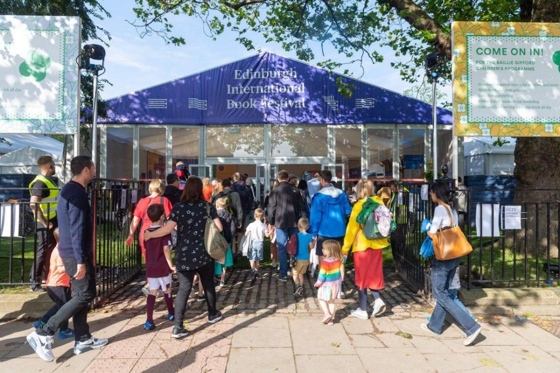 Good luck to our friends at the Edinburgh International Book Festival!...