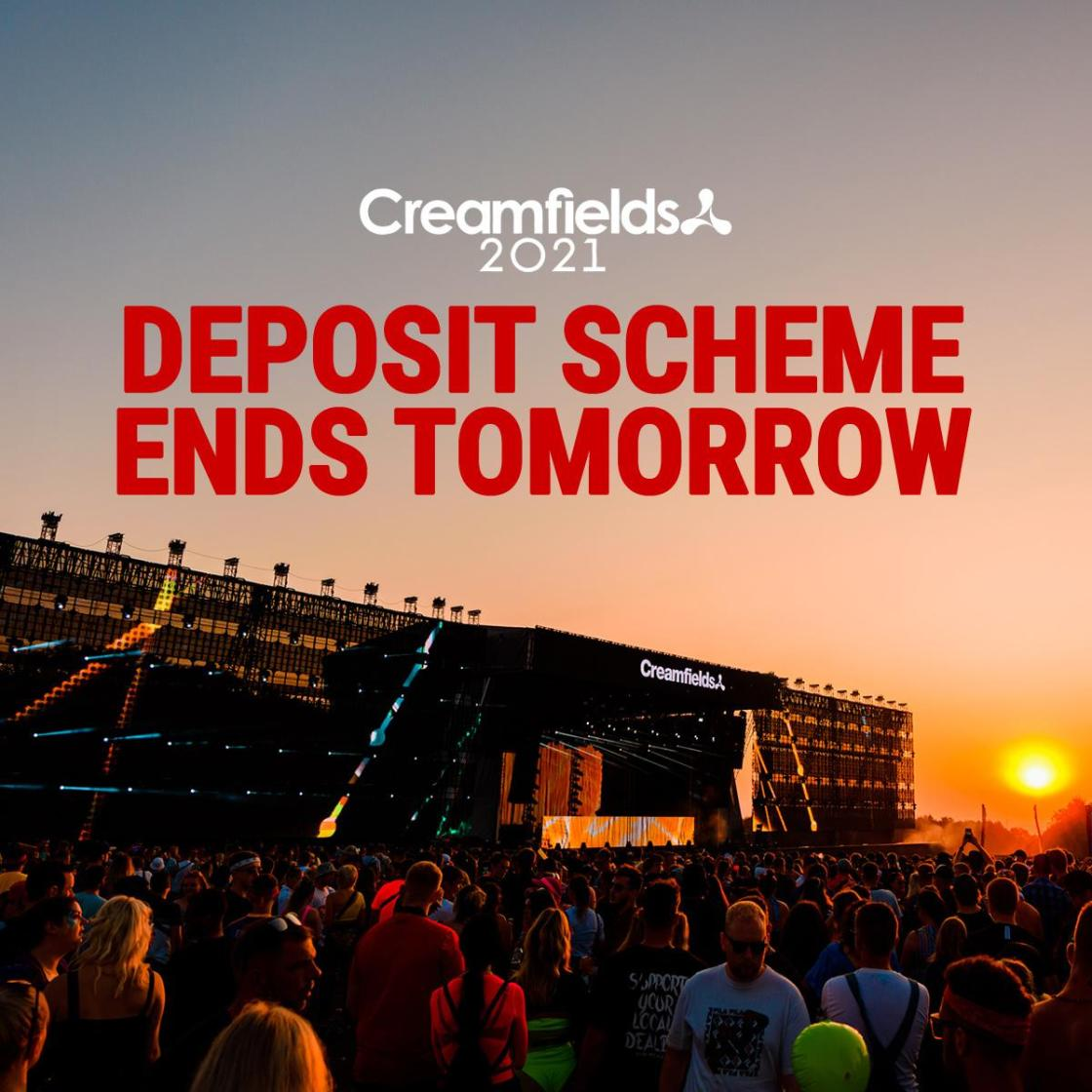Our September deposit scheme ends tomorrow! Secure your ticket for just £20 depo...