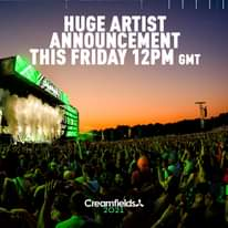 INCOMING! Huge artist announcement coming this Friday 12pm GMT #YouAsked #WeList...