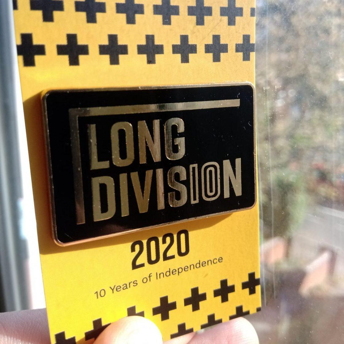Our celebratory 10 years gold enamel badges have arrived! They are real chunky f...