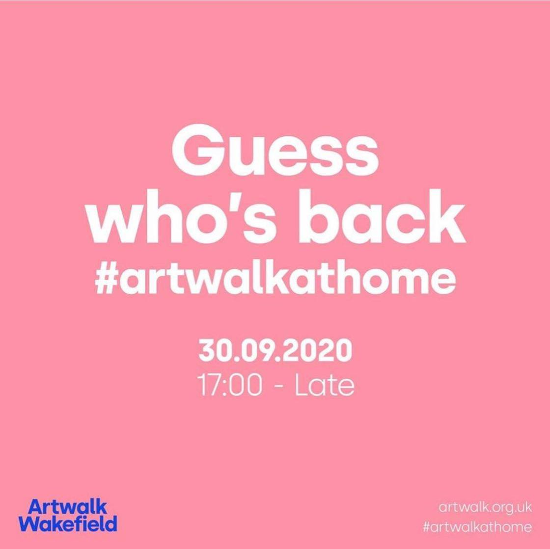 Tonight is the Wakefield Artwalk - digitally of course. Give them a follow on al...