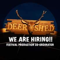 Deer Shed is hiring!  We're on the lookout for a talented and experienced events...