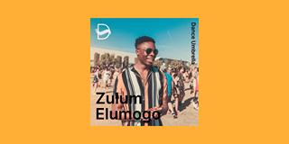 "Image may contain: 1 person, text that says ""Dance Umbrella Zufu Elumogo"""