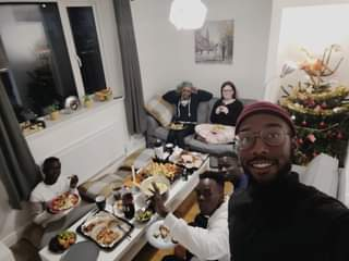 May be an image of 3 people, food and indoor