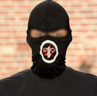 May be an image of one or more people and face mask