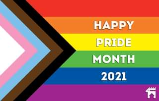 """May be an image of text that says """"HAPPY PRIDE MONTH 2021 គ"""""""