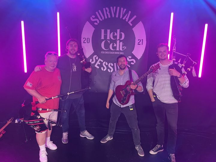 NEWS  - RED HOT CHILLI PIPERS MOVIE SHOW SET FOR HEBCELT SURVIVAL SESSIONS...