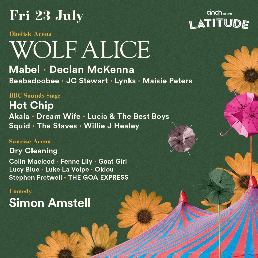 Introducing your ultimate festival companion…The cinch presents Latitude app is ...