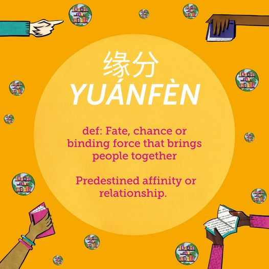 We've been discovering some of the wonderful words from around the world without...