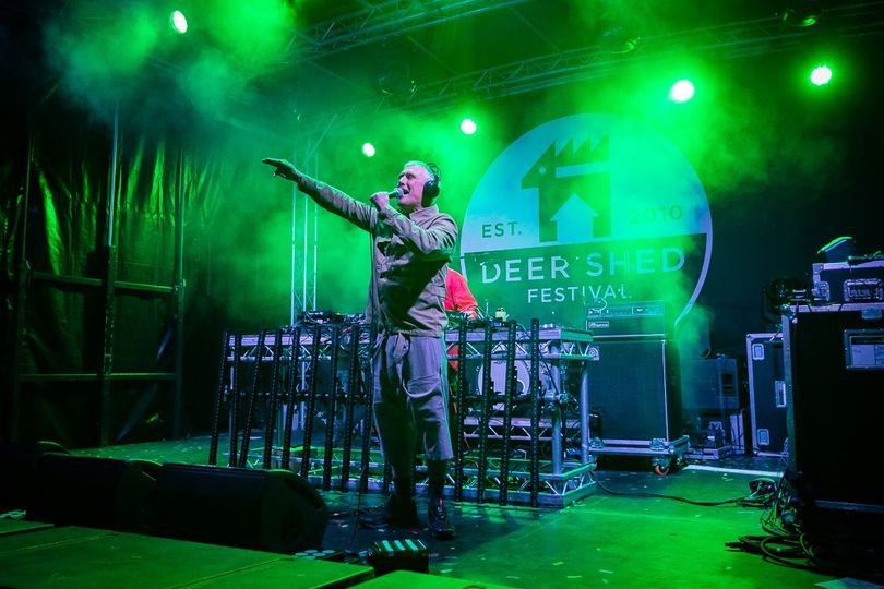 Bez stepping on the main stage to bring the Sunday night at Base Camp Plus to a ...