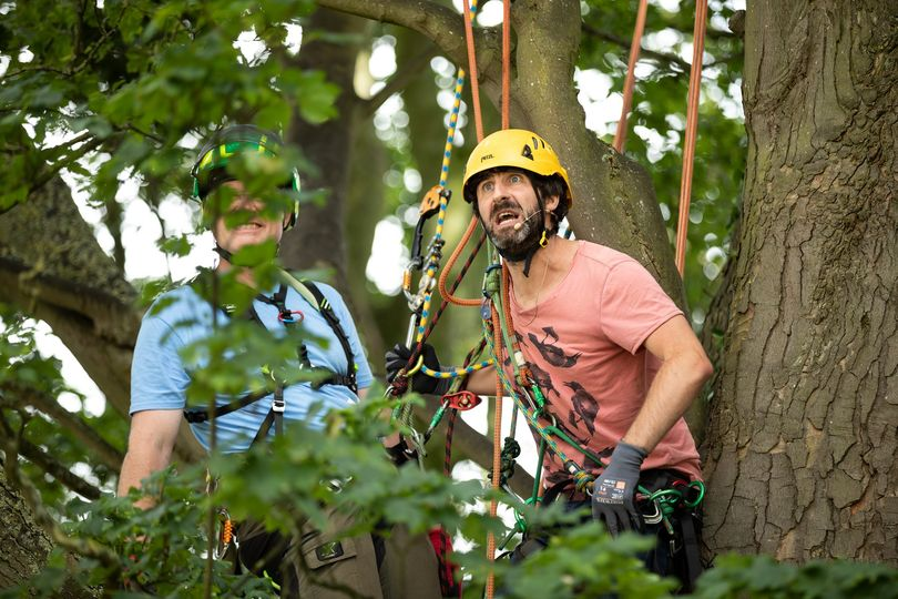Feeling those Post-Bank-Holiday blues? Could be worse, you could be Mark Watson ...