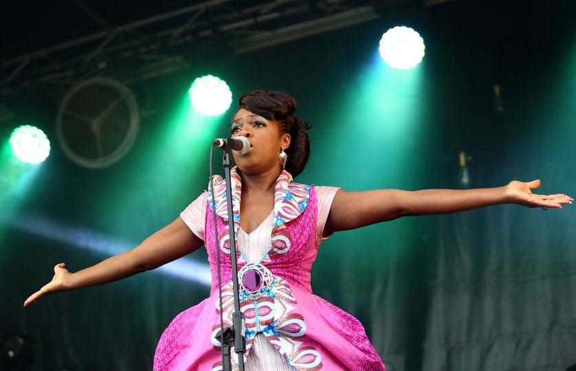 The sensational Ibibio Sound Machine back in 2015 at Deer Shed 6!  Who was there...