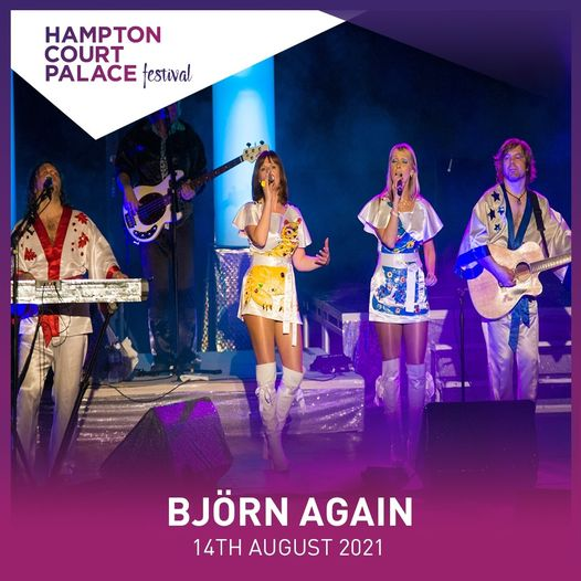 Björn Again will be taking to the stage this evening....