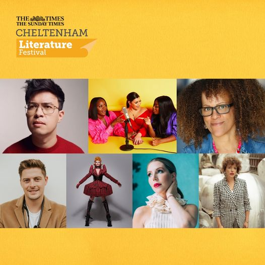 Only 3 more days until tickets go on general sale for #CheltLitfest!  Become a m...