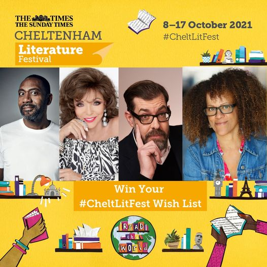 This is your last chance reminder to build your #CheltLitFest wish list on the w...