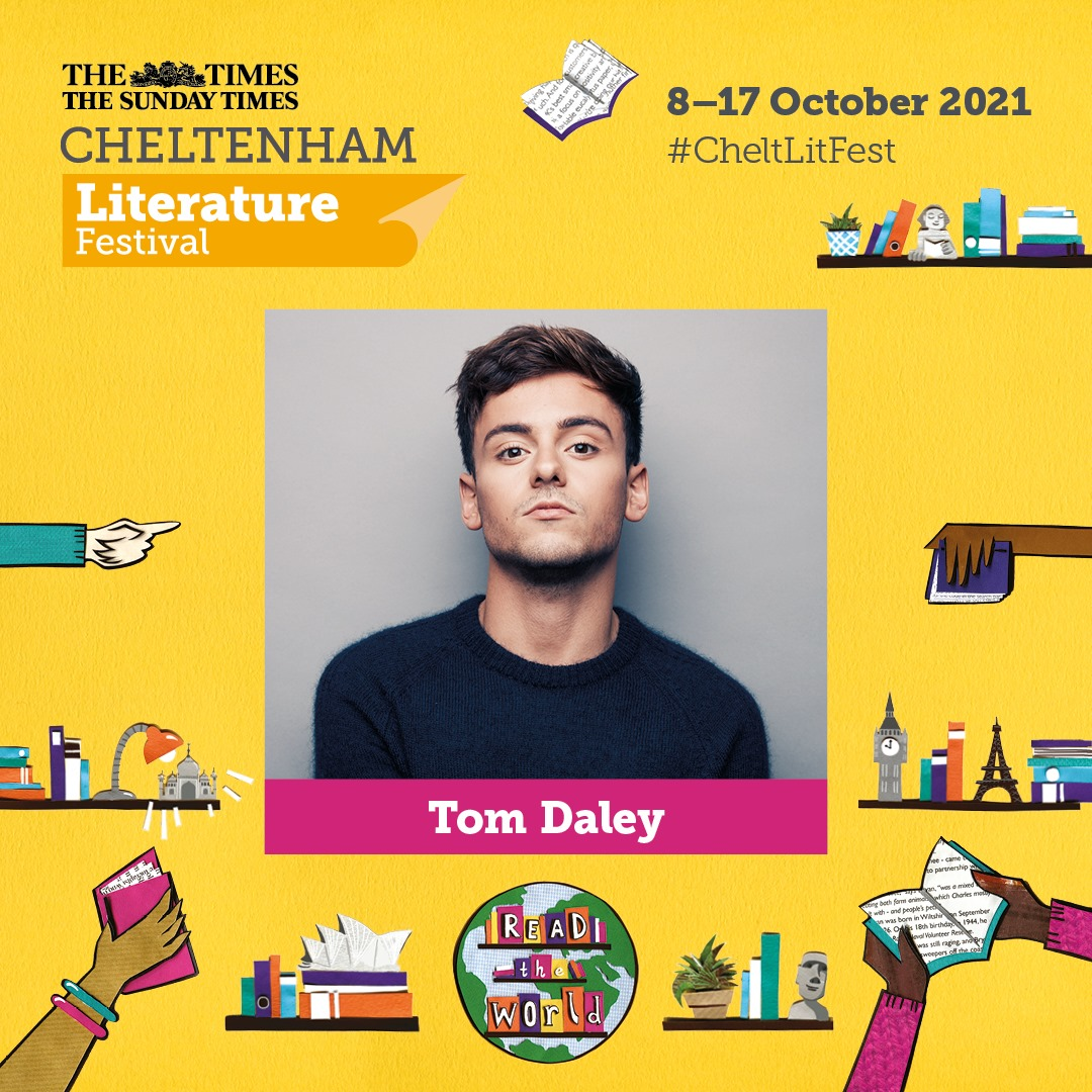 We still have availability for many events at #CheltLitFest!...