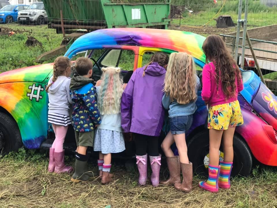 The kids love Ernie…...
