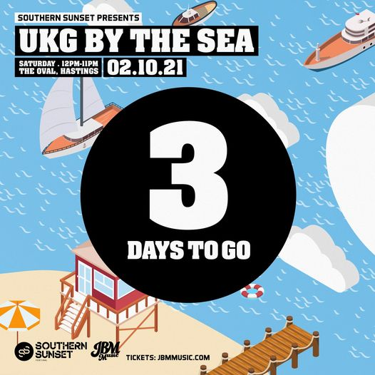 THREE DAYS TO GO UNTIL UKG BY THE SEA!  Don't miss out, grab one of the final remaining tickets HERE...