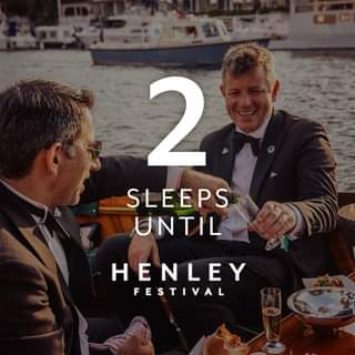 In just 2 nights time  Henley Festival will be BACK and more fabulous than ever!...