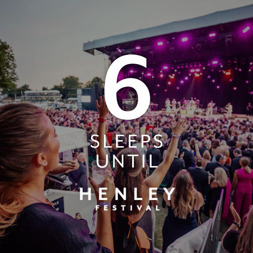 With the Henley Festival gates opening in just 6 sleeps time, we would like to t...