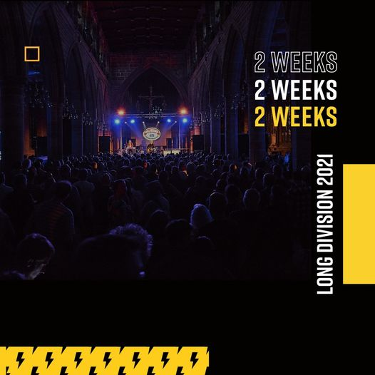 Only 14 days until we're back celebrating the return of live music at Long Divis...
