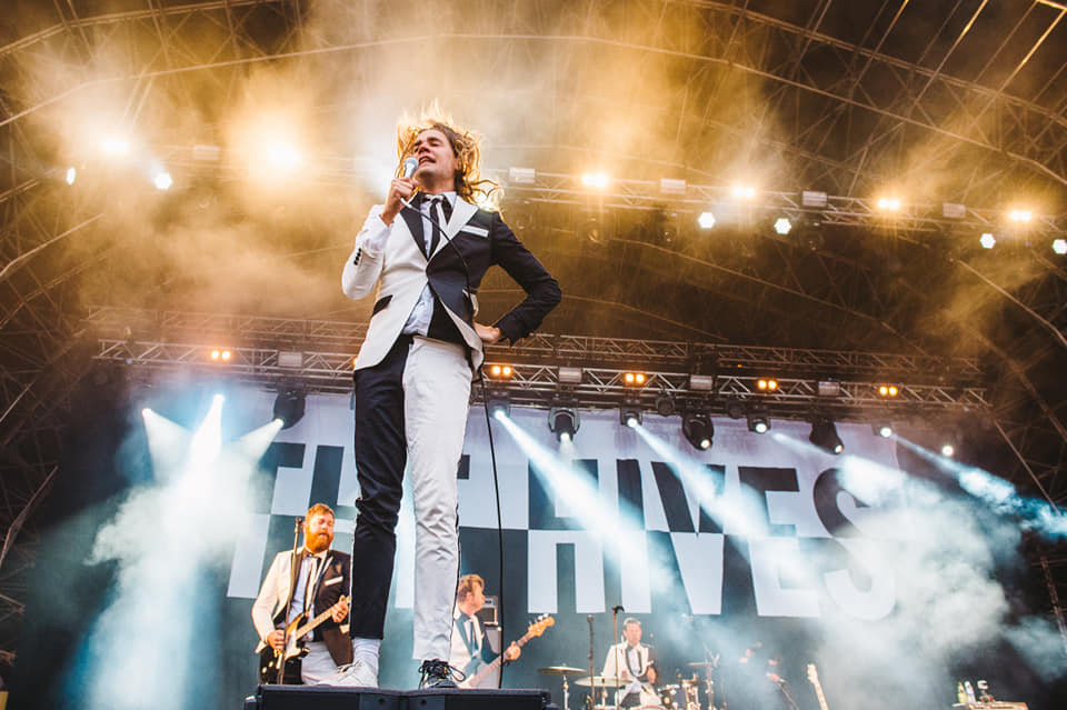 The MIGHTY Hives achieving legend status back in 2016  One of the best sets ever...