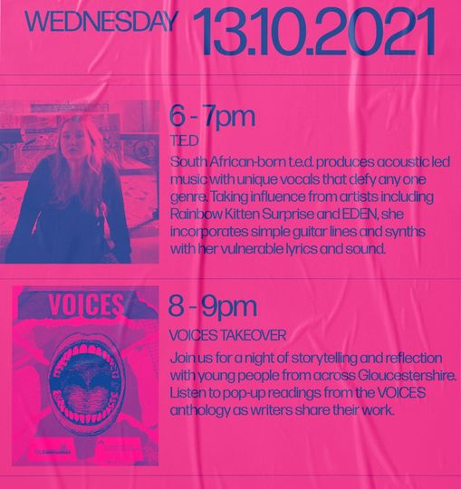 Here's what coming up for FREE today at VOICEBOX! Find these events at Montpelli...