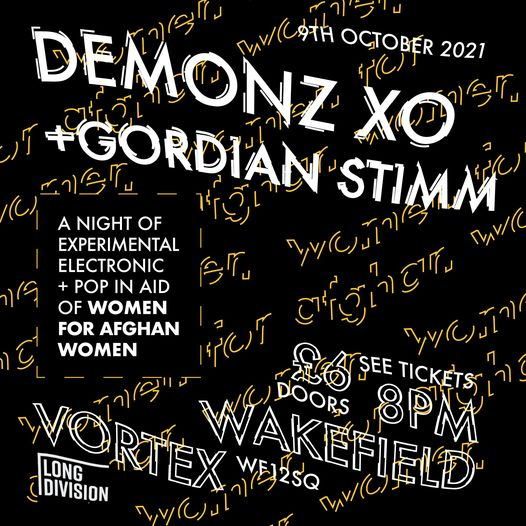 A reminder that next Saturday Oct 9th we have a fantastic gig down at Vortex in ...