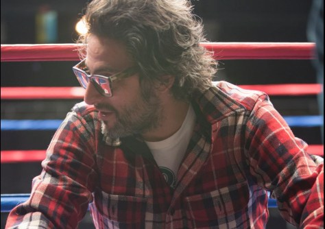 Director Ben Younger on the set of BLEED FOR THIS.