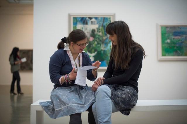 La Visite - Mars 2015 : Musée d'Art Moderne avec Laetitia Carton et Julie.