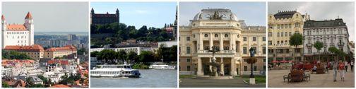 Экскурсии. Братислава