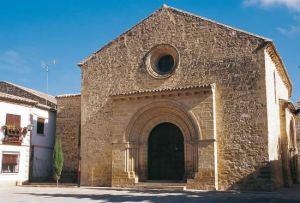 Baeza. Iglesia de la Santa Cruz