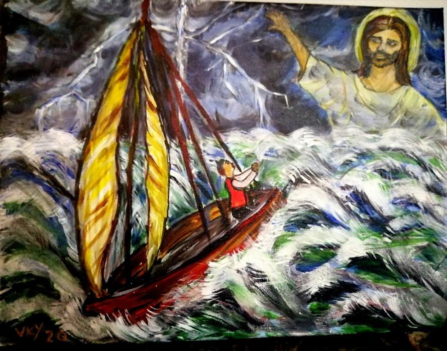Ajutor Divin pe Mare