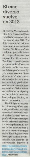 Tal Cual. Página 25.(13/02/2012)