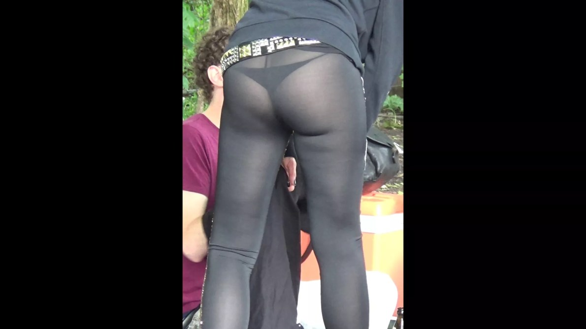 Bend Over See Thru